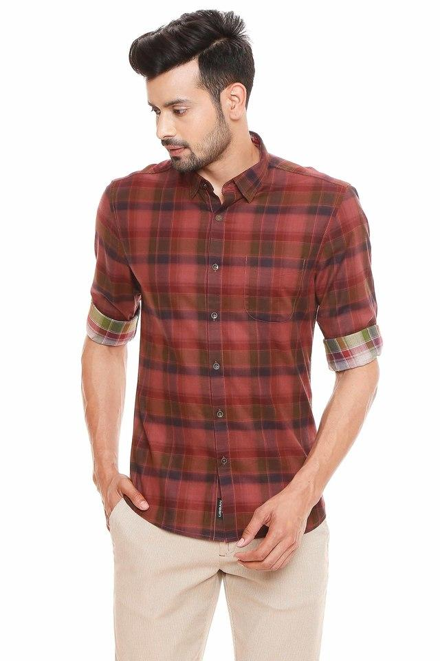 BLACKBERRYS - Red Casual Shirts - Main