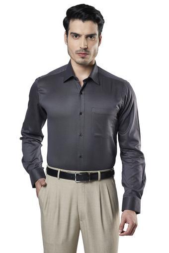 RAYMOND -  Dark GreyShirts - Main