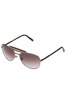 TRUSSARDI Mens Aviator Brown Gradient Sunglasses