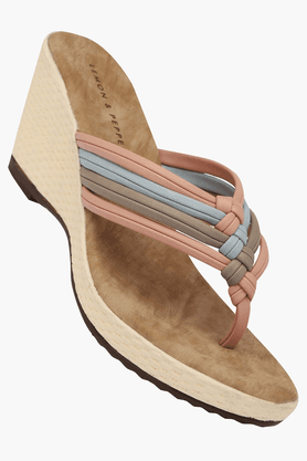 Womens Daily Wear Slipon Wedge Sandal