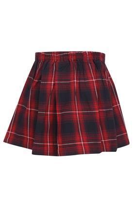 Girls Checked Skirt