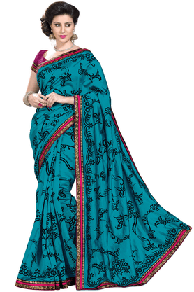 ASHIKAWomen Silk Designer Saree