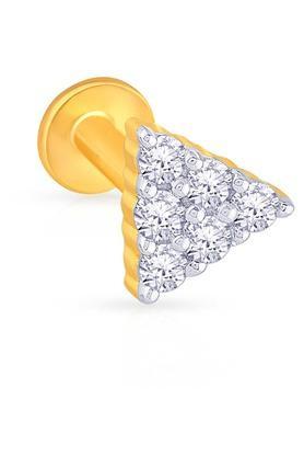 MALABAR GOLD AND DIAMONDSWomens Diamond Nosepin UINSP00138