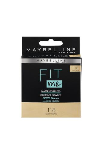 MAYBELLINE -  Light Beige, 118 ( Beige )Face - Main