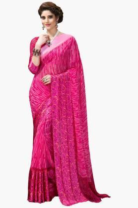 DEMARCAWomen Georgette Designer Saree - 202142762
