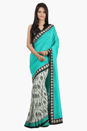 JASHN Womens Printed Saree - 201502483
