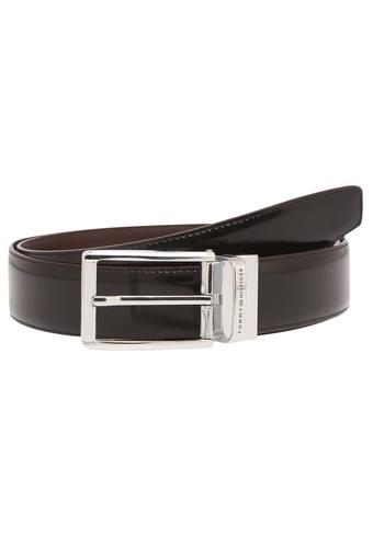 TOMMY HILFIGER -  Black Belts - Main