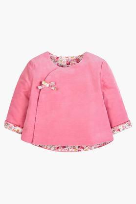 Infants Woollen Solid Sweater