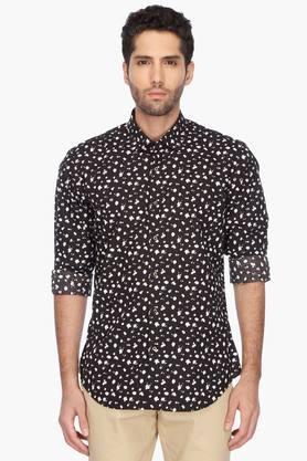 Rare Rabbit Formal Shirts (Men's) - Mens Regular Collar Printed Shirt