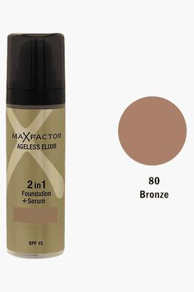 MAX FACTORAgeless Elixir 2 In1 Foundation + Serum