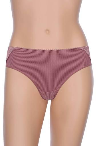 Womens Stripe Lace Hipster Briefs