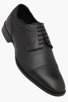 FRANCO LEONE Mens Leather Lace Up Derbys - 202211480_9212