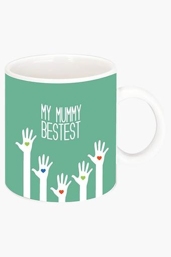 My Mummy Bestest Printed Ceramic Coffee Mug
