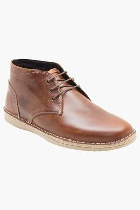 RED TAPE Mens Leather Lace Up Casual Boots - 202240627_9124
