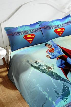 Cotton King XL Digital Printed Bedsheet With Pillow Cover - 202448901