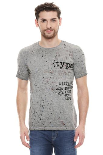 KILLER -  Grey T-shirts - Main