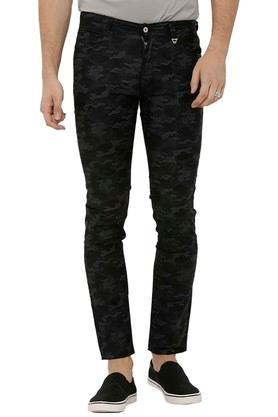 Mens 5 Pocket Camouflage Trousers