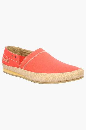 Mens Canvas Slip On Loafers - 202482988