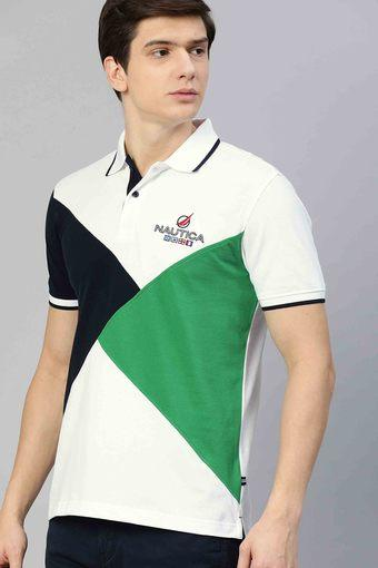 NAUTICA -  WhiteT-Shirts & Polos - Main