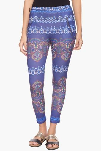 d08e542f6cea45 Buy RS BY ROCKY STAR Womens Printed Ankle Length Jeggings | Shoppers Stop