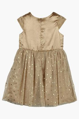 Girls Printed Flared Dress