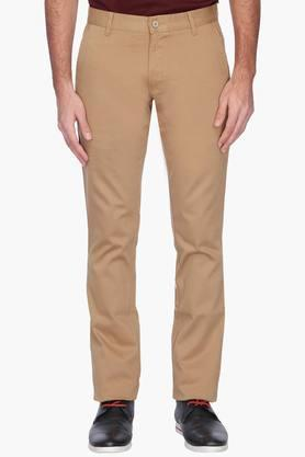 VETTORIO FRATINI Mens Solid Casual Chinos - 201485902
