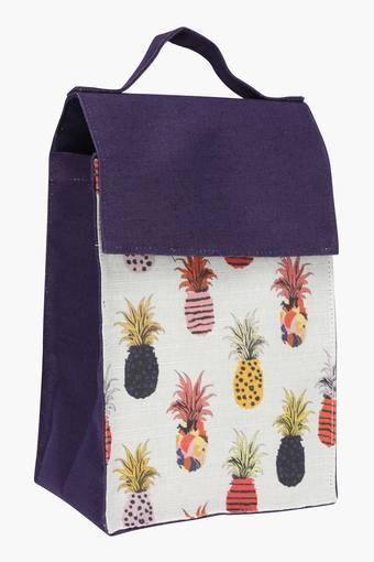 Pineapple Print Lunch Bag