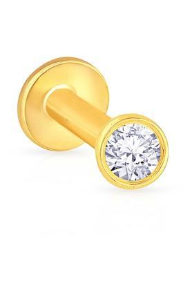 MALABAR GOLD AND DIAMONDSWomens Diamond Nosepin UINSP00440