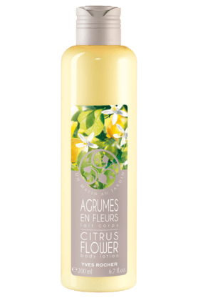 YVES ROCHER Un Matin Au Jardin Citrus Flower Body Lotion 200ML