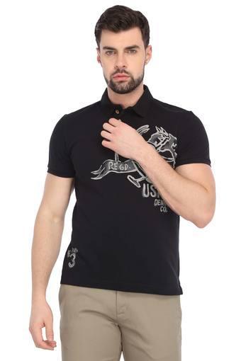 U.S. POLO ASSN. DENIM -  Black MixT-shirts - Main