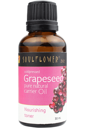 SOULFLOWER Carrier Oil - Grape Seed