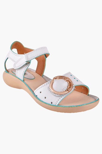 BEANZ -  White Sandals - Main