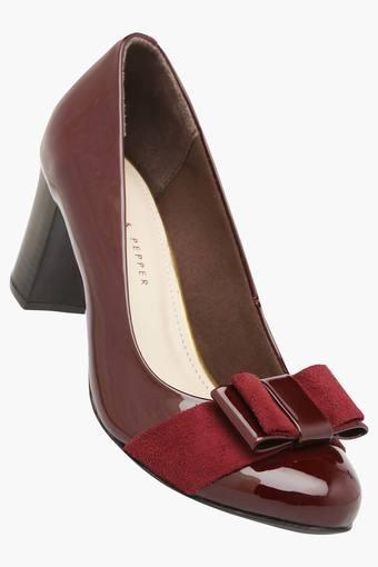 LEMON & PEPPER -  Maroon Heels - Main