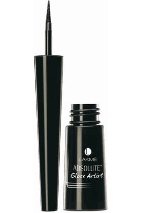 LAKMEAbsolute Gloss Artist Eye Liner, Black, 2.5 Ml