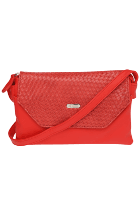 LAVIE Womens Allspice Leather Snap Closure Sling Bag (Use Code FB20 To Get 20% Off On Purchase Of Rs.1800)