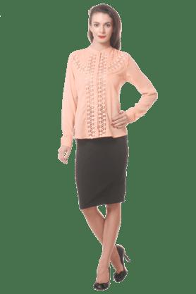 PURYSWomen Casual Printed Skirt