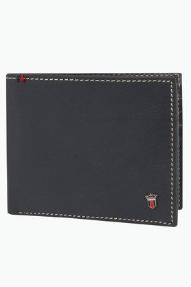 LOUIS PHILIPPE Mens Leather 1 Fold Wallet - 201819538