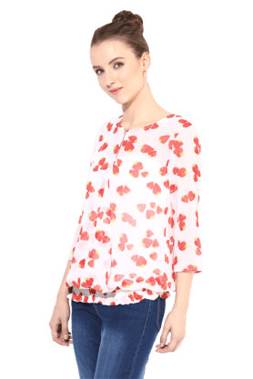 Womens Printed Blouse