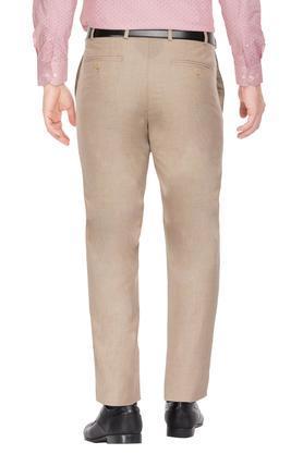 RAYMOND - FawnFormal Trousers - 1