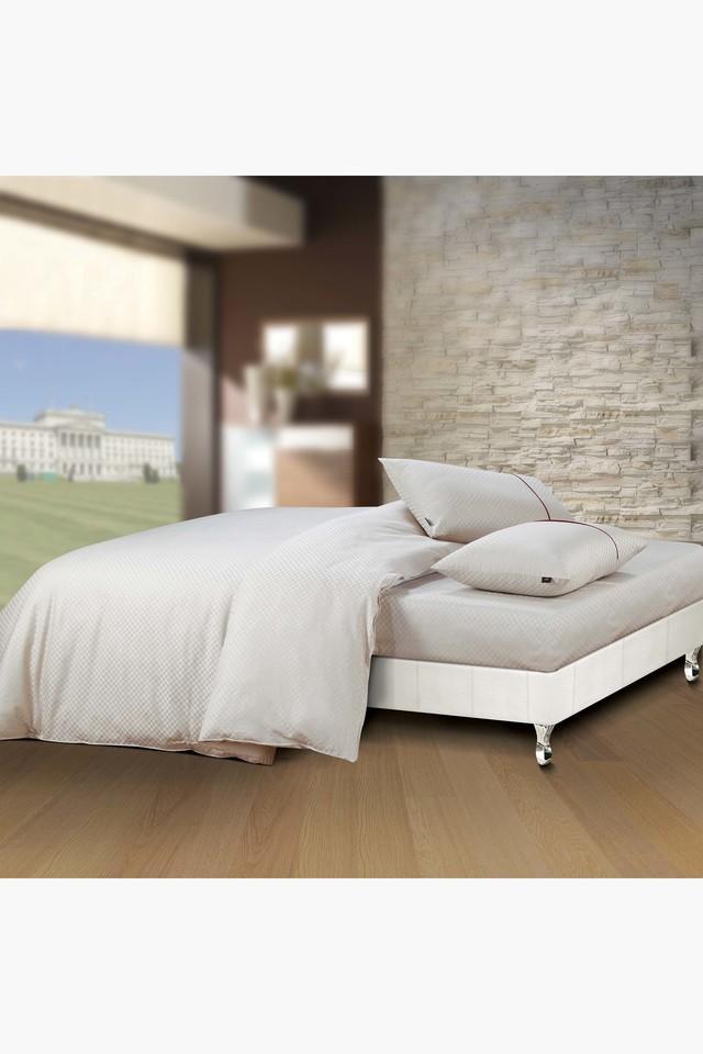 Oxford 100% Cotton Soild Design Oxford Pillow Cover 400 TC - 1 PCs