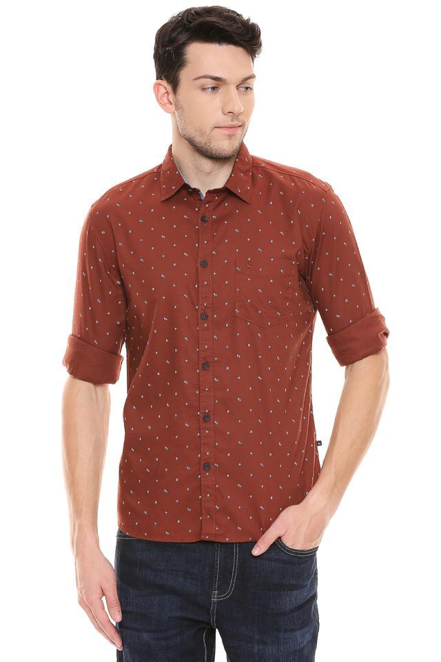 PARX - Dark BrownCasual Shirts - Main