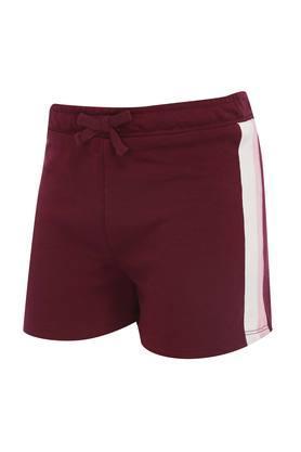 Girls Slub Shorts
