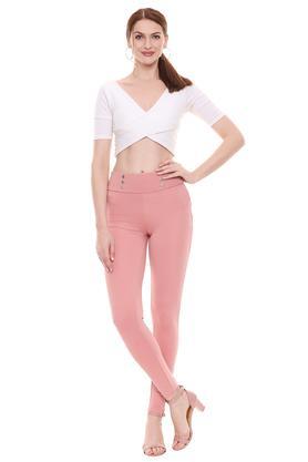 KRAUS - Shocking PinkTrousers & Pants - 3