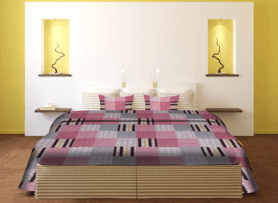 IVYDouble Bed Sheet - Patch
