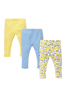 MOTHERCAREUnisex Cotton Print Trouser -Pack Of 3