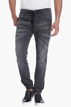 Jack And Jones Jeans (Men's) - Mens Regular Fit Mild Wash Jogger (Erik Fit)