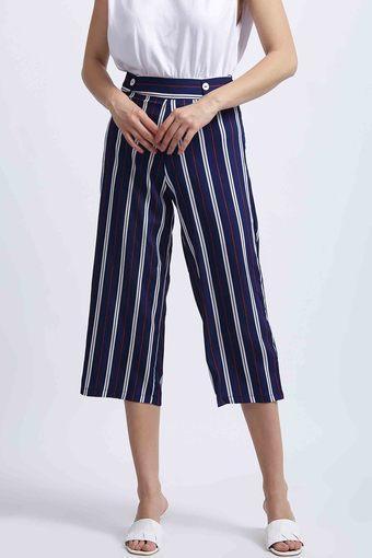 ZINK LONDON -  BlueTrousers & Pants - Main