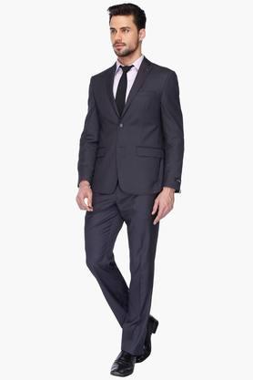 Mens Long Sleeves Slim Fit Solid Blazers