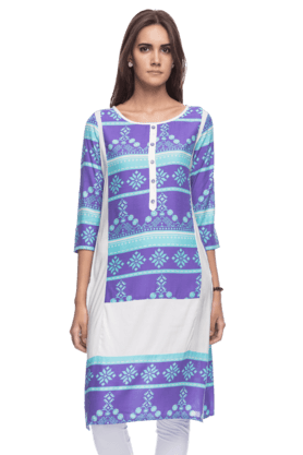 KASHISH Kashish Womens Regular Fit Kurta