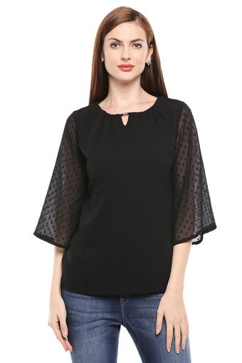 PARK AVENUE -  Black Tops & Tees - Main